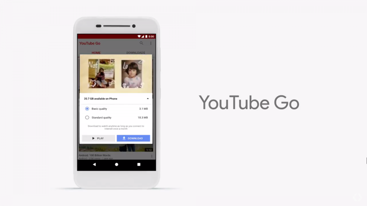Android-Go-YouTube-Go