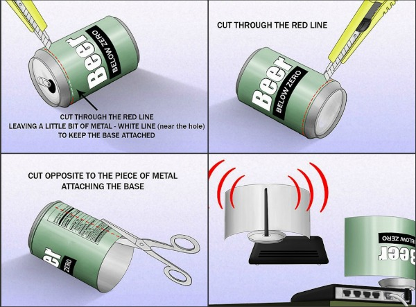 Beer-Can-WiFi-Booster